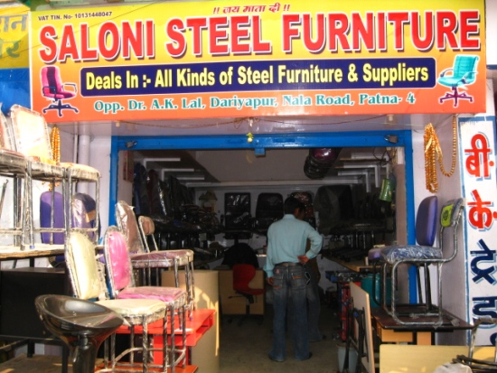 STEEL FURNITURE CHAIR TABLE STOOL