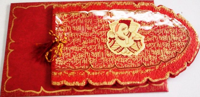 MARRIAGE CARD IN DARIYAPUR GOLA, TRIMURTI SHAADI CARD