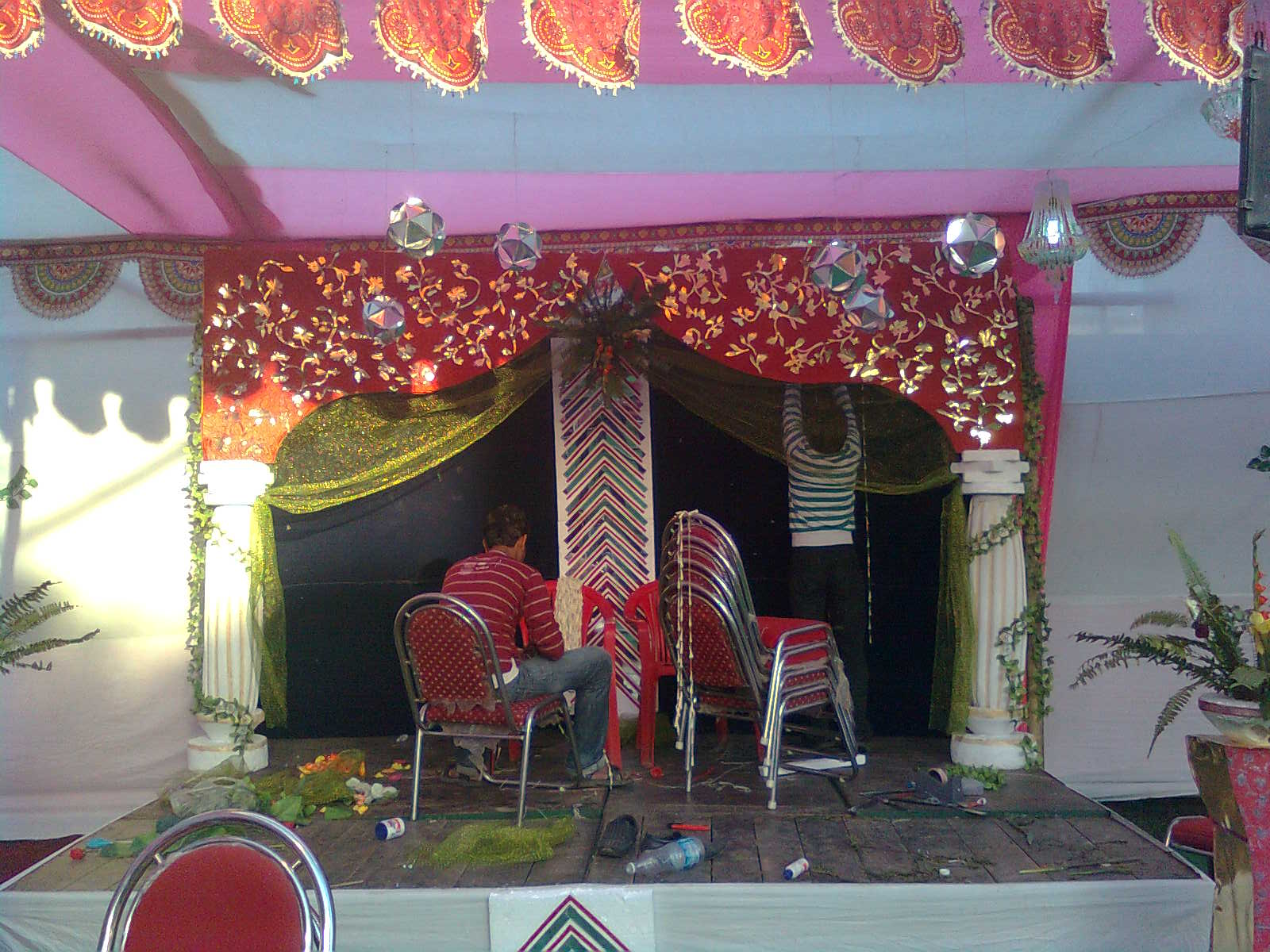 STAGE DECORATION IN PATNA
