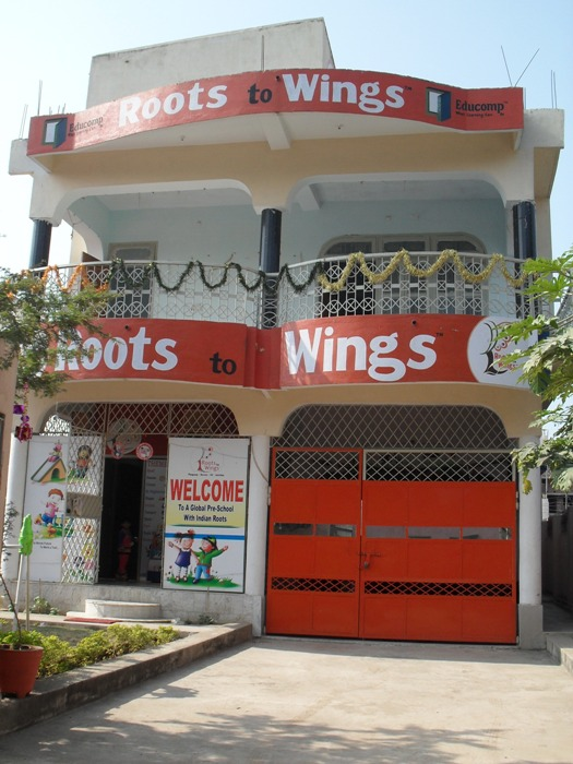 ADMISSION IN ROOTS TO WINGS
