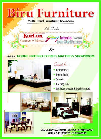 BIRU FURNITURE SHOWROOM IN KODERMA