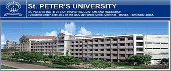 ADMISSION IN ST PETER UNIVERSITY
