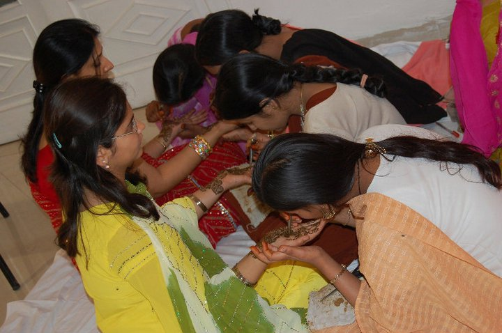 MEHENDI PARTY IN RANCHI