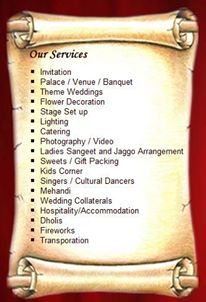 WEDDING SERVICE SOLUTION IN RANCHI