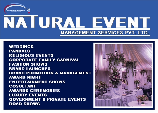 EVENT ORGANISER IN RANCHI