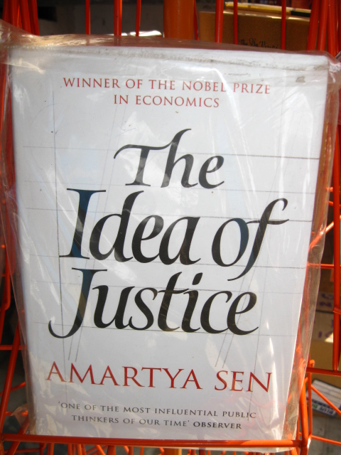 THE IDEA OF JUSTICE IN RANCHI BOOK