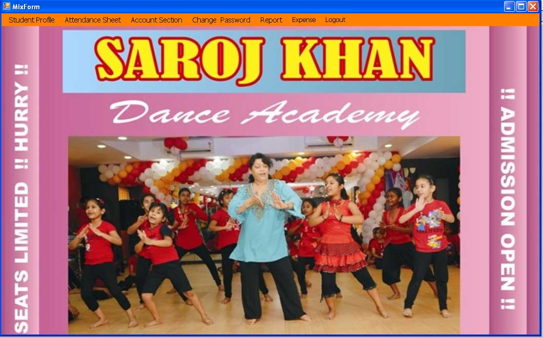 SAROJ KHAN DANCE ACADEMY IN RANCHI