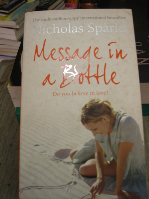 MESSAGE IN A BOTTLE BOOKSHOP