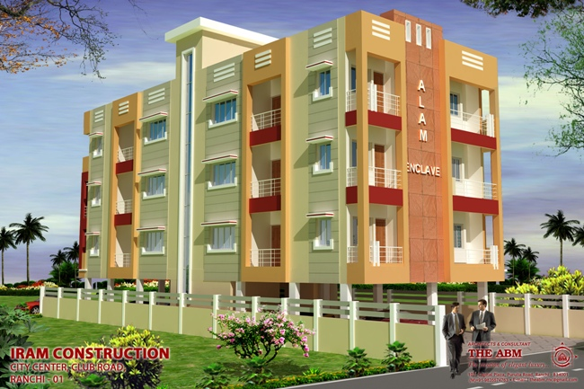 alam enclave apartment in ranchi