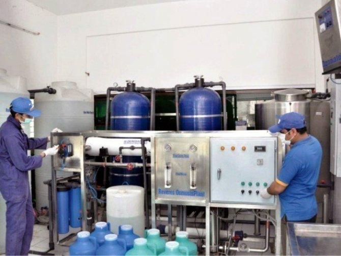 WATER TREATMENT PLANT IN RANCHI
