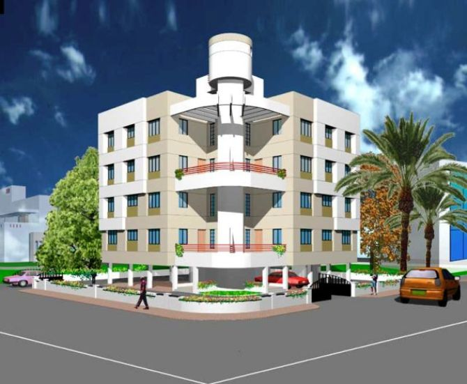 LAY OUT FOR BUILDING CONSTRUCTION WORK IN RANCHI