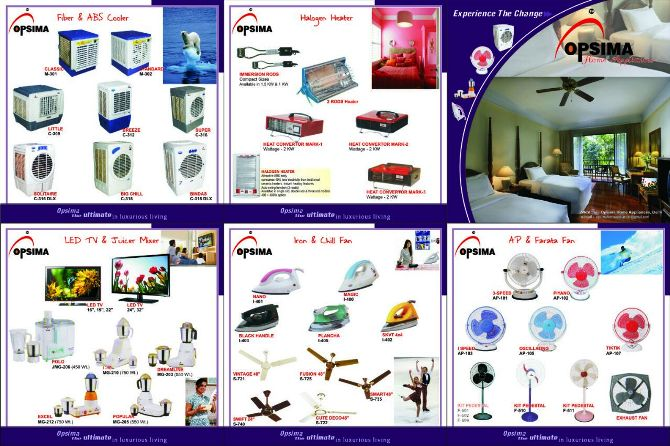 ALL TYPE OF OPSIMA ELECTRIC ITEM DISTRIBUTER IN RAMGARH