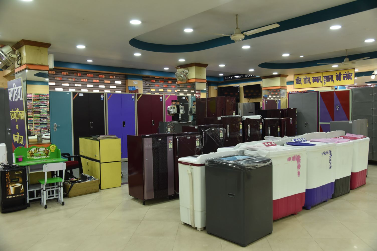 STEEL UTENSILS SHOWROOM IN RAMGARH