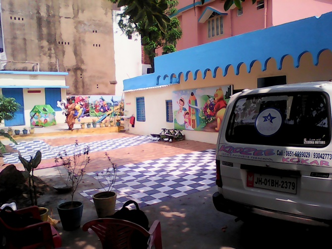 KIDZEE SCHOOL IN KOKAR RANCHI