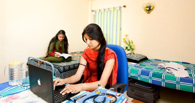 TOP WORKING GIRLS HOSTEL IN  SHRADHANAND ROAD RANCHI