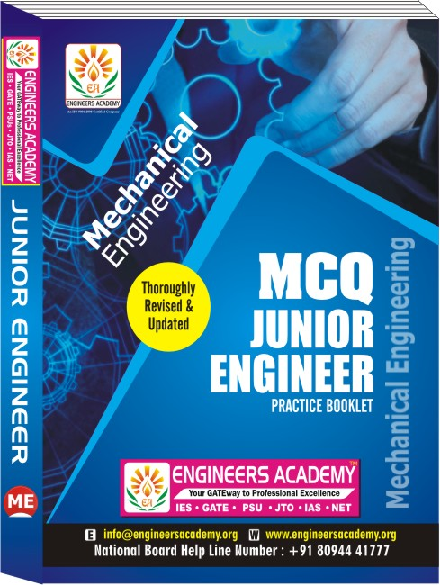 SSC JEN MECHANICAL ENGINEERING PRACTICES BOOKLET