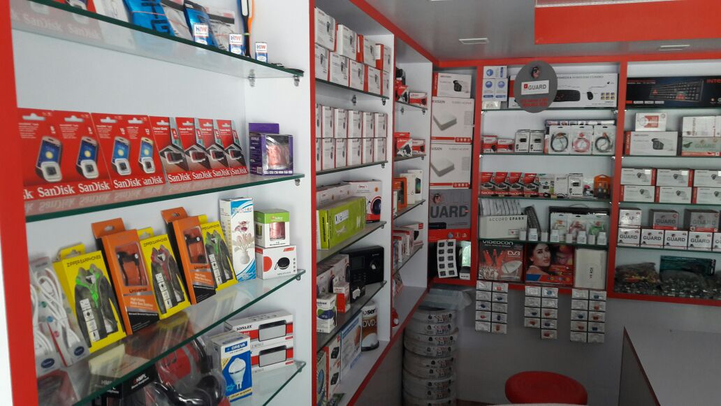 all type security solution &  electronic shop in ranchi