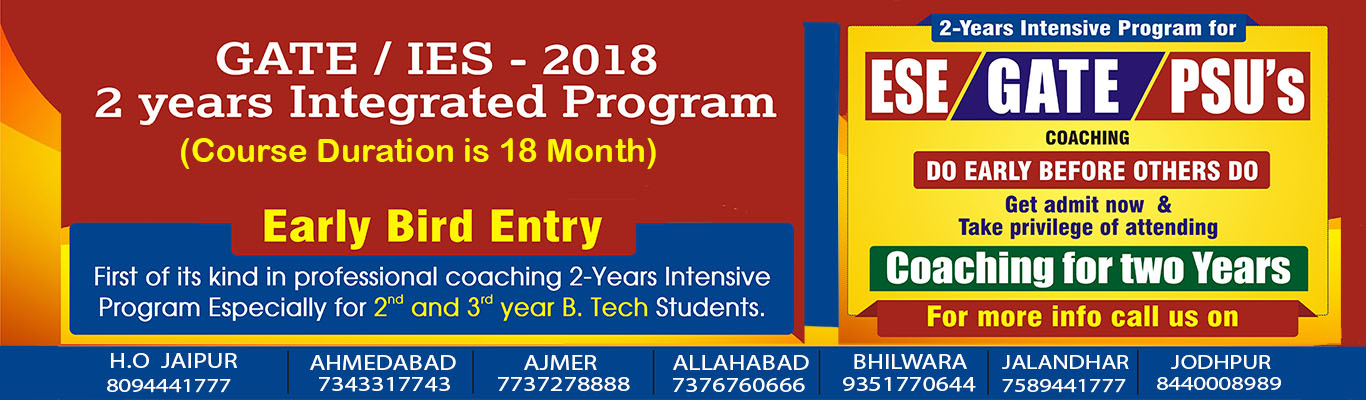 ENGINEERS ACADEMY 2 YEARS INTEGRATED PROGRAM