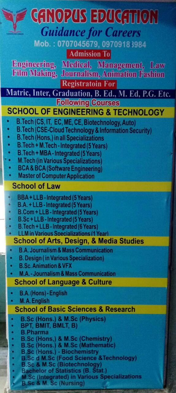 ADMISSION CONSULTANCY FOR BBA IN RANCHI
