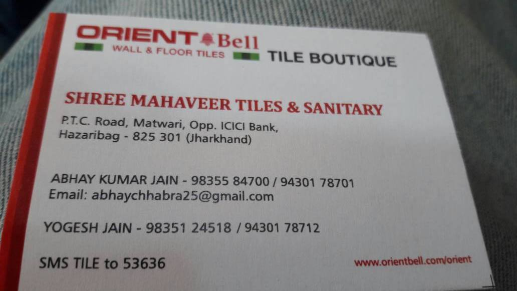 TILES & FLOOR IN HAZARIBAGH