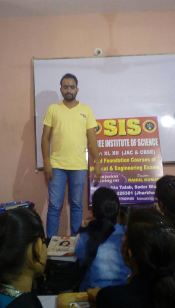 BEST SCIENCE TEACHER IN HAZARIBAGH