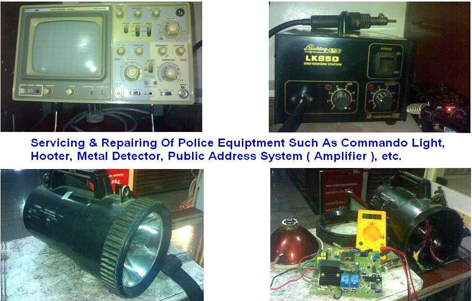 SERVICING OF POLICE EQUIPMENT
