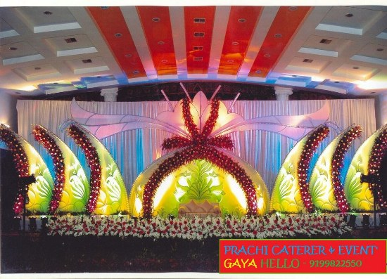 BEST STAGE DECORATOR IN BODHGAYA