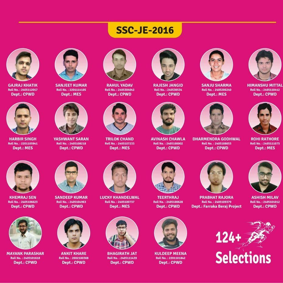 ENGINEERS ACADEMY SSC JE RESULTS