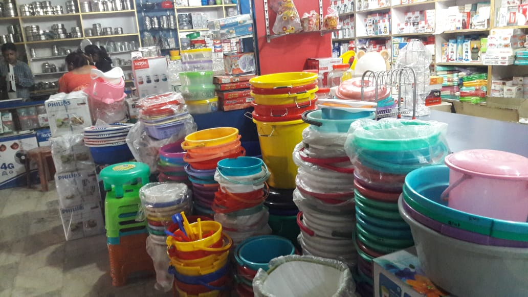 BARTAN SHOP IN MORABADI RANCHI