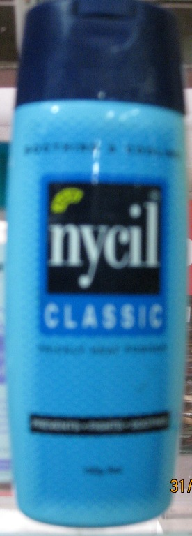 NYCIL CLASSIC PRICKLY HEAT POWDER