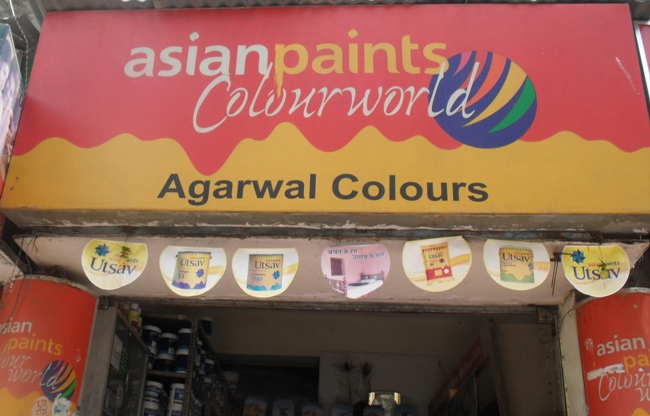 AGARWAL COLOURS IN EXHIBITION ROAD