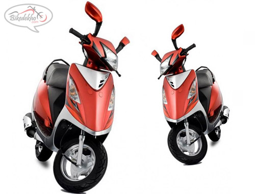 TVS SCOOTY IN GAYGHAT TVS