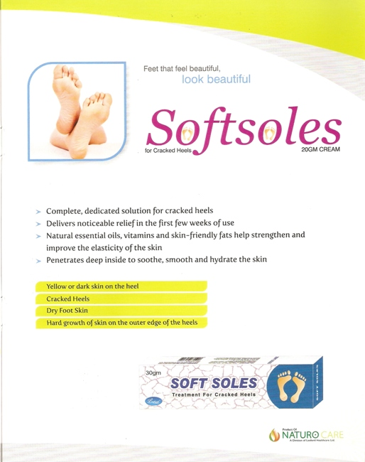 SOFTSOLES FOR CRAKES HEELS