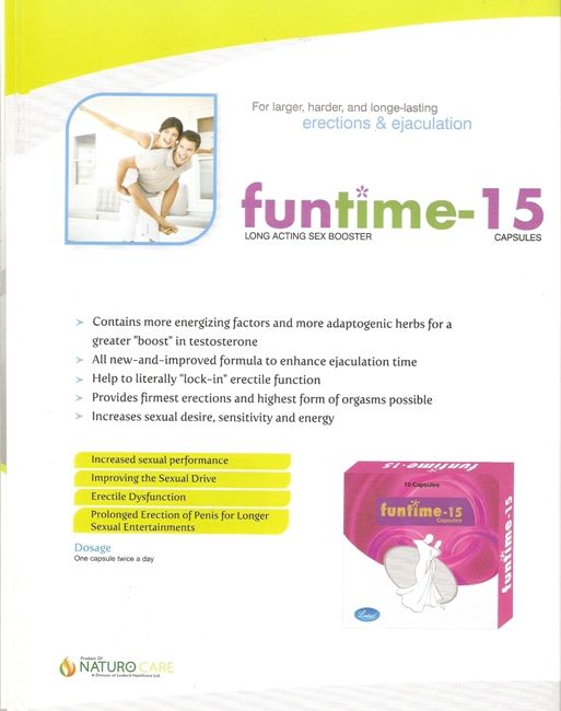 FUNTIME 15 LONG ACTING SEX BOOSTER