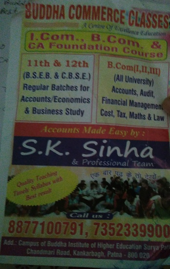 CA COACHING IN KANKARBAGH, PATNA