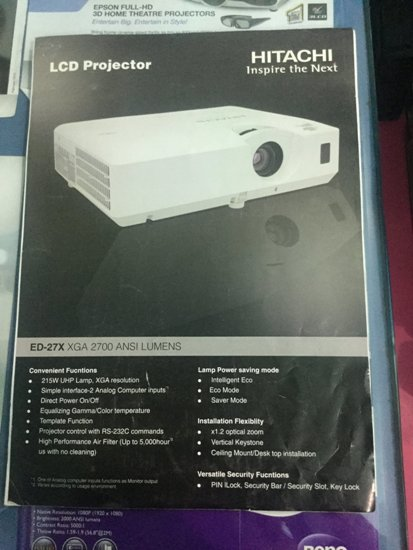HITACHI LCD PROJECTOR DEALERS IN PATNA